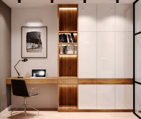 Brilliant Home Office Decoration Ideas 22