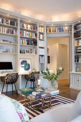Brilliant Home Office Decoration Ideas 25