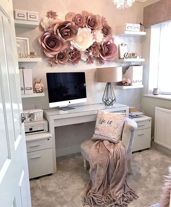 HOMYSTYLE & 48 Brilliant Home Office Decoration Ideas - HOMYSTYLE