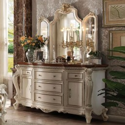 Classy Bedroom Dressers Ideas With Mirror 22