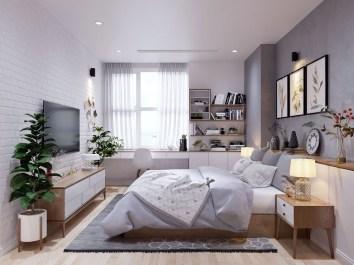 Cool Scandinavian Bedroom Design Ideas 05