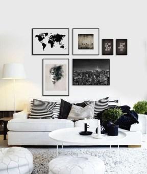 Cozy Black And White Living Room Design Ideas 06