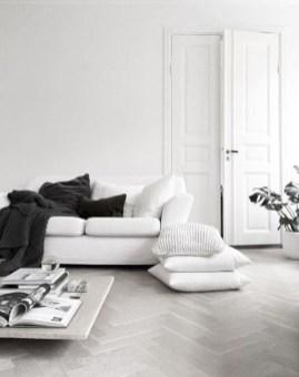 Cozy Black And White Living Room Design Ideas 08