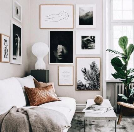 Cozy Black And White Living Room Design Ideas 19