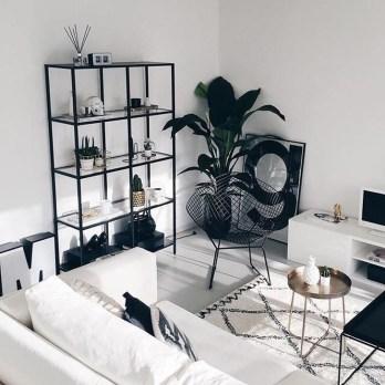 Cozy Black And White Living Room Design Ideas 28