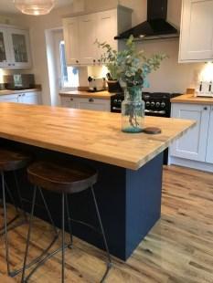 Elegant Navy Kitchen Cabinets For Decorating Your Kitchen 18