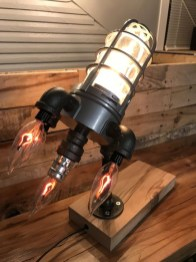 Fascinating Industrial Pipe Lamp For Home 19