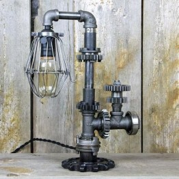 Fascinating Industrial Pipe Lamp For Home 23