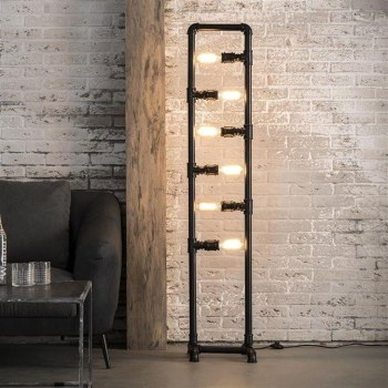 Fascinating Industrial Pipe Lamp For Home 24