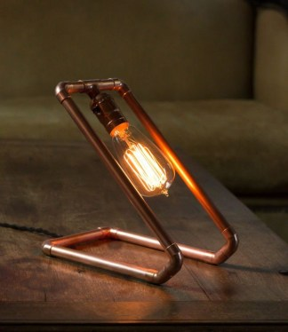 Fascinating Industrial Pipe Lamp For Home 33