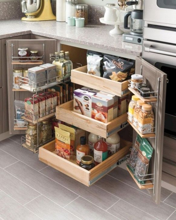 45 Genius And Creative Kitchen Organization Ideas Homystyle
