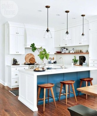 Inspiring Blue And White Kitchen Ideas To Love 07