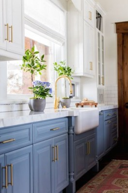 Inspiring Blue And White Kitchen Ideas To Love 08