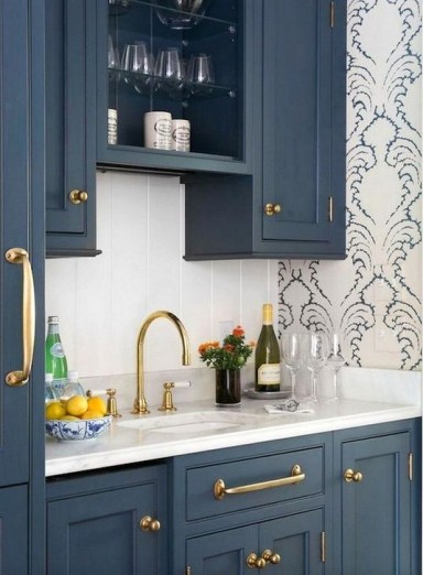Inspiring Blue And White Kitchen Ideas To Love 23