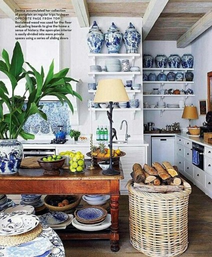 Inspiring Blue And White Kitchen Ideas To Love 30