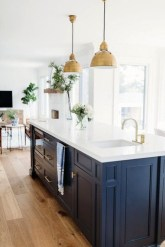 Inspiring Blue And White Kitchen Ideas To Love 35