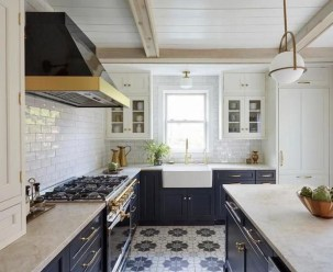 Inspiring Blue And White Kitchen Ideas To Love 36