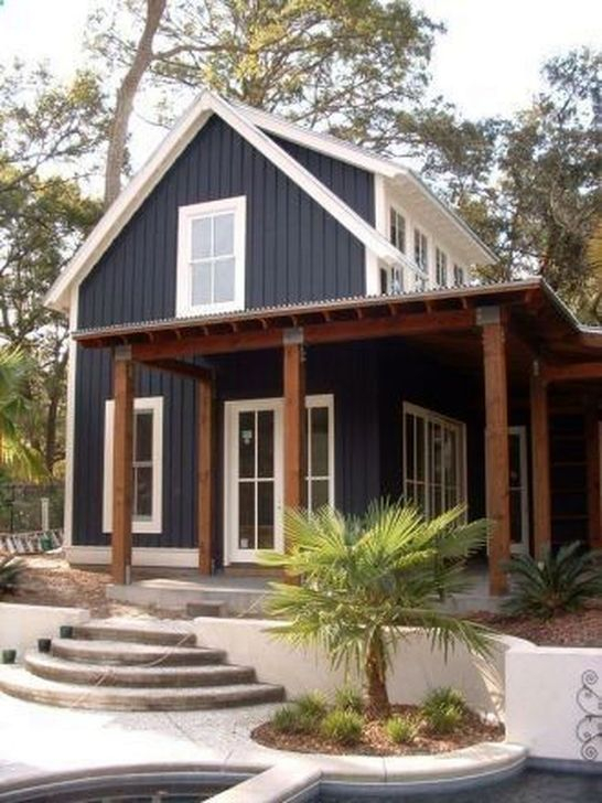 Marvelous Cottage House Exterior Design Ideas 43