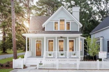 Marvelous Cottage House Exterior Design Ideas 45