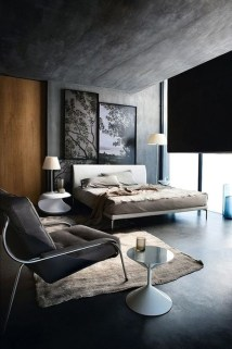 Modern Style For Industrial Bedroom Design Ideas 35