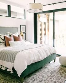 Natural Green Bedroom Design Ideas 04