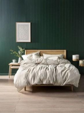 Natural Green Bedroom Design Ideas 16