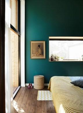 Natural Green Bedroom Design Ideas 17