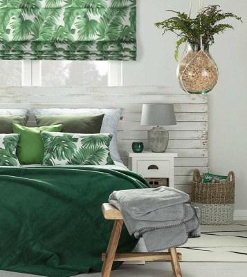 Natural Green Bedroom Design Ideas 24