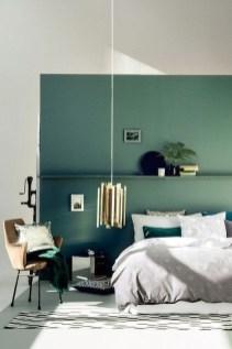 Natural Green Bedroom Design Ideas 38