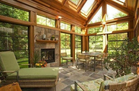 Popular Sun Room Design Ideas For Relaxing Room 42