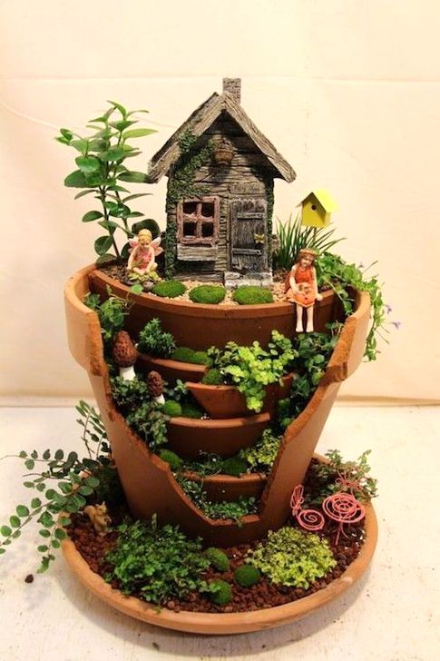 Pretty Fairy Garden Plants Ideas For Around Your Side Home 03