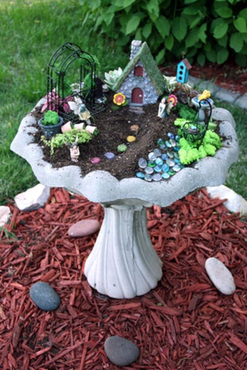 Pretty Fairy Garden Plants Ideas For Around Your Side Home 10