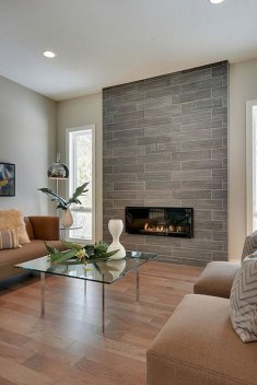 Rustic Farmhouse Fireplace Ideas For Your Living Room 52
