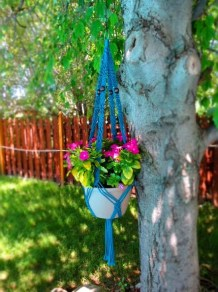 Beautiful Hanging Planter Ideas For Outdoor 05