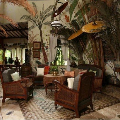 Best Ideas Of Tropical Wall Mural For Summer 02