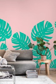 Best Ideas Of Tropical Wall Mural For Summer 11