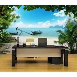 Best Ideas Of Tropical Wall Mural For Summer 21