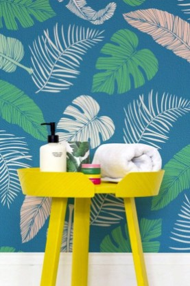 Best Ideas Of Tropical Wall Mural For Summer 46