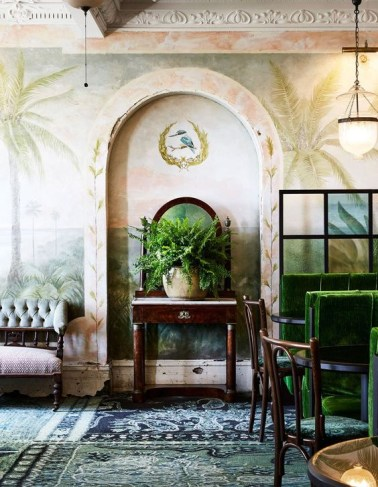 Best Ideas Of Tropical Wall Mural For Summer 50