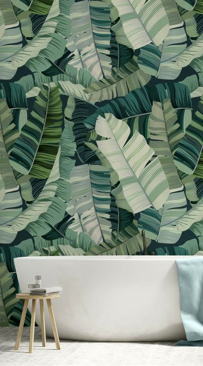 Best Ideas Of Tropical Wall Mural For Summer 55