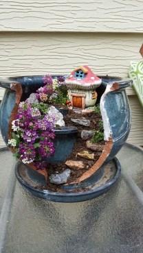 Brilliant DIY Fairy Garden Design Ideas 16