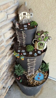 Brilliant DIY Fairy Garden Design Ideas 24