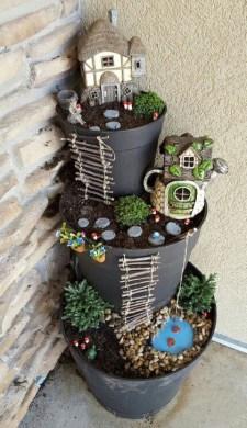 Brilliant DIY Fairy Garden Design Ideas 24