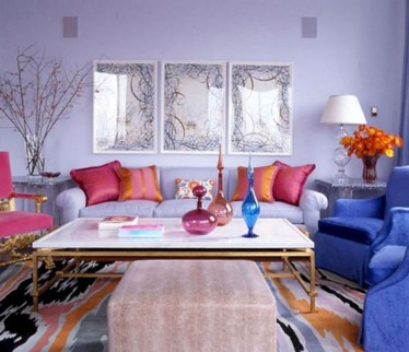Comfy Colorful Sofa Ideas For Living Room Design 09