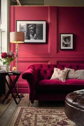 Comfy Colorful Sofa Ideas For Living Room Design 11