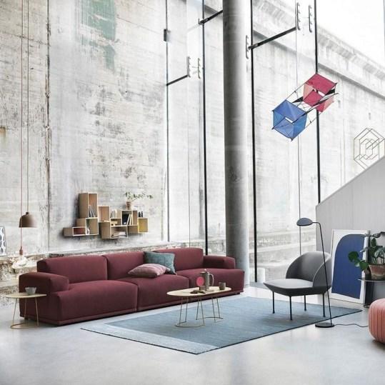 Comfy Colorful Sofa Ideas For Living Room Design 13