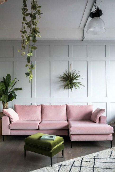 Comfy Colorful Sofa Ideas For Living Room Design 16