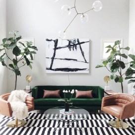 Comfy Colorful Sofa Ideas For Living Room Design 31