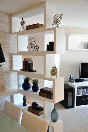 Cool Partition Living Room Ideas 30