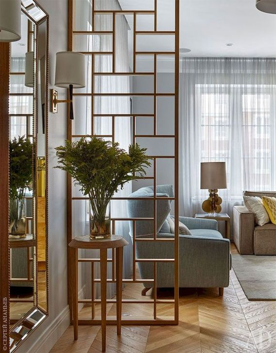 Cool Partition Living Room Ideas 48
